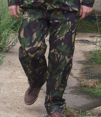 British DPM Camo gore-tex trousers
