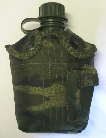 Army style water bottle