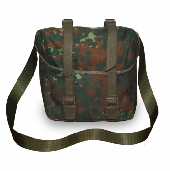 German flecktarn shoulder strap bag
