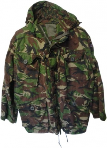 British DPM windproof combat smock