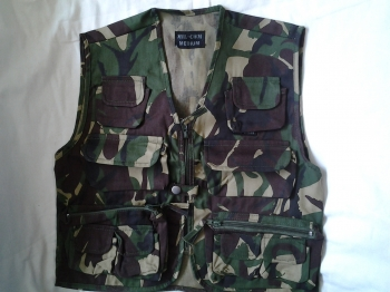 Kid's DPM camo action vest