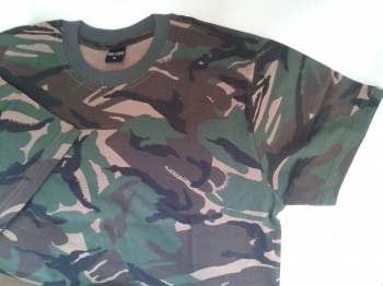 British DPM camo T shirt