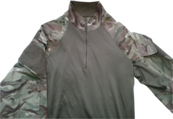 British MTP camo under body armour combat shirt